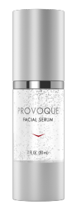 The patented skin stem cell-derived formula in PROVOQUE™ Facial Serum  addresses several key signs of facial skin aging, including the appearance of wrinkles/fine lines, loss of firmness, rough dry texture, and blotchy discoloration. Containing the complete set of cell factors present during the development and maintenance of youthful skin, PROVOQUETM Facial Serum is a new approach to addressing the visible signs of aging.